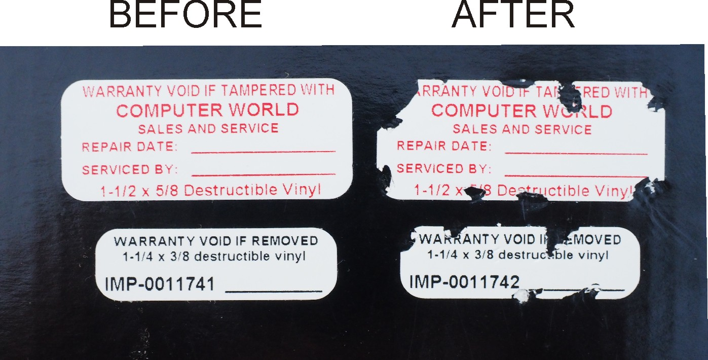 Destructible Vinyl