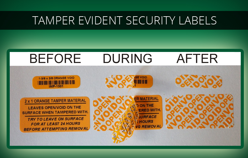 photograph about Printable Tamper Proof Labels known as Tamper Obvious Protection Labels, Tamper Evidence Decals Seals